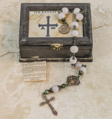 Rose Quartz One Decade Rosary