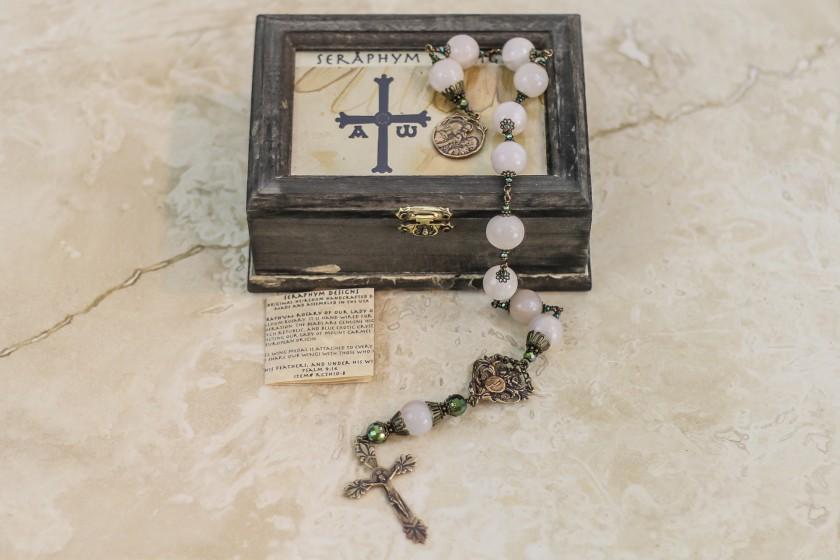 Rose Quartz One Decade Rosary