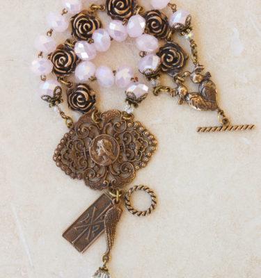 Fresh Pink Crystal Bracelet