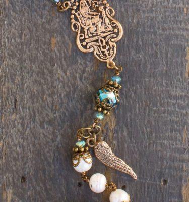 Cream Fresh Water Pearl Heirloom Rosary