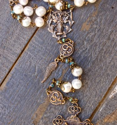 The Wedding Heirloom Rosary of Divine Love and Devotion