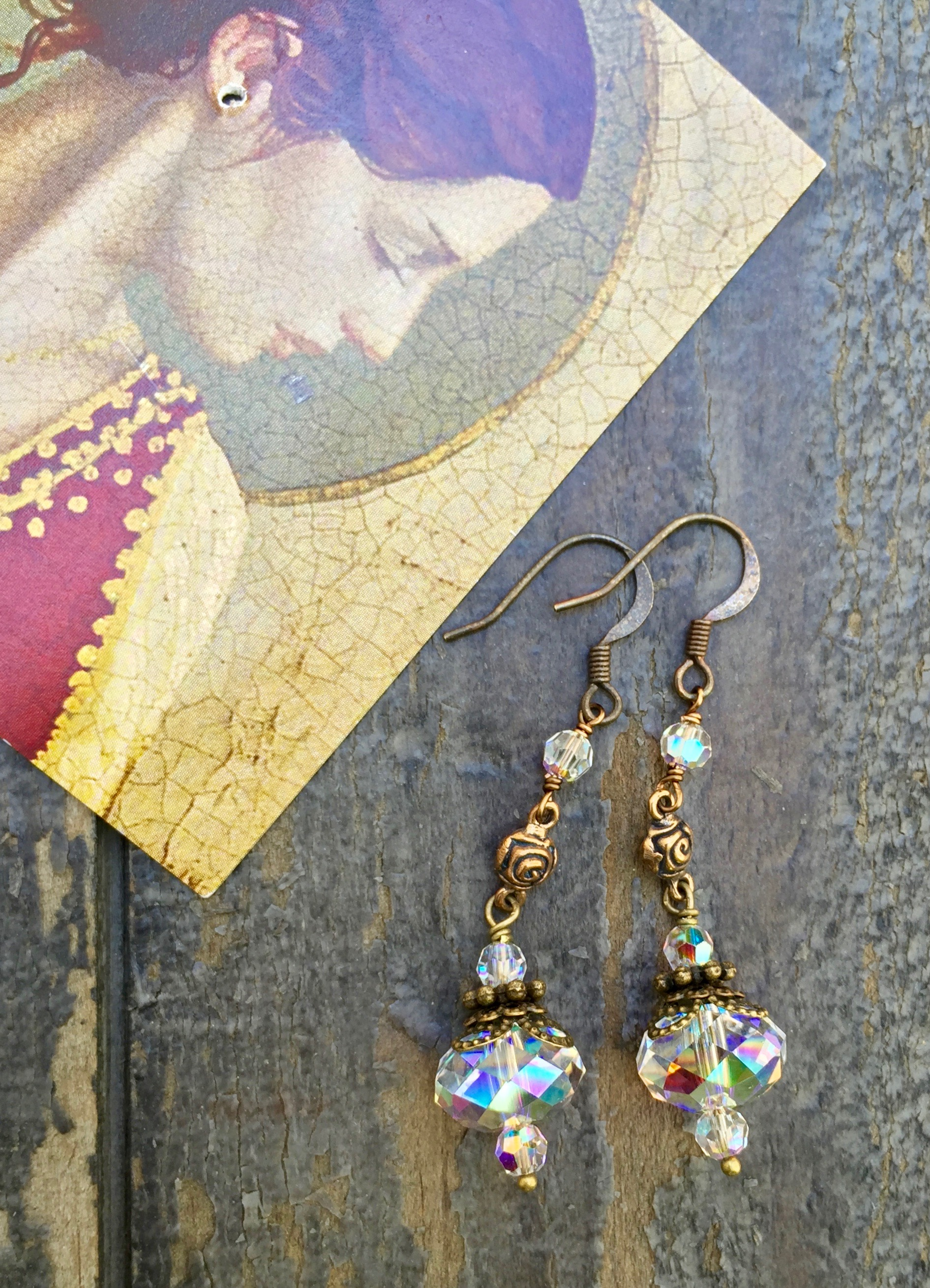 EARRINGS OF DIVINE GRACE