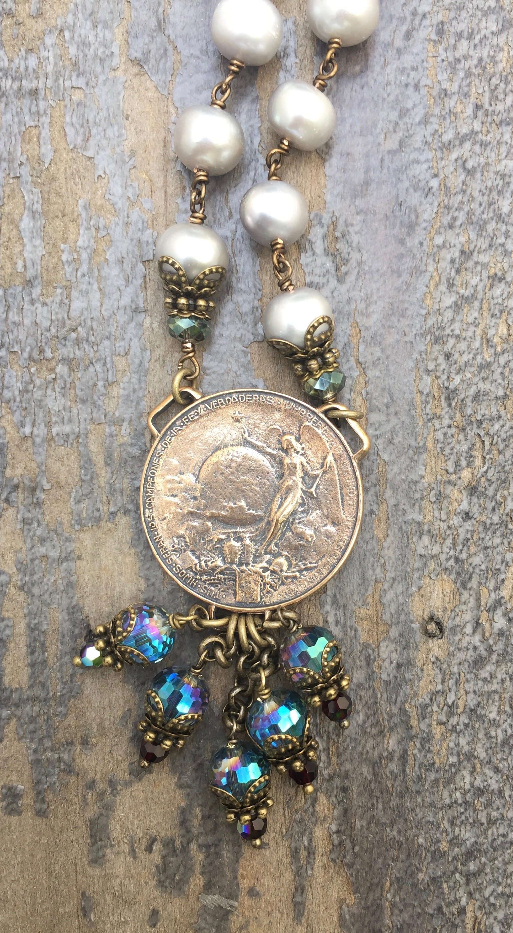 Necklace Of St Francis Of Assisi Seraphym Designs