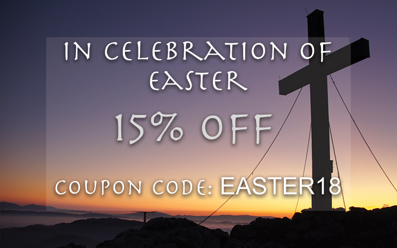 "Enter ""EASTER18"" for 15% off your entire order"