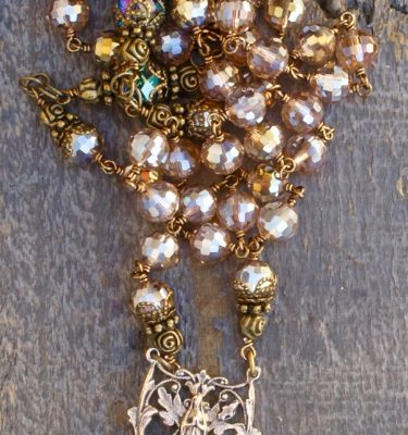 Exotic Crystal Rosaries