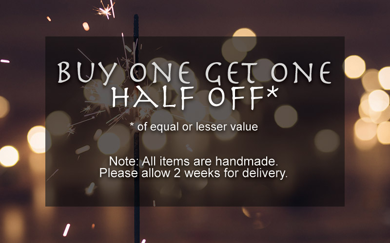 New Year Sale BOGO half-off